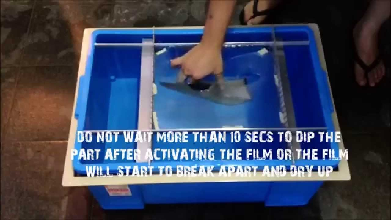 Amc water transfer printing with diy kit hydrographics youtube solutioingenieria Image collections