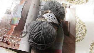 Вязание пуловера с нуля для начинающих. Часть 1. Обзор пряжи и выбор модели.
