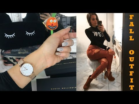 The Perfect Fall Outfit + Daniel Wellington Review