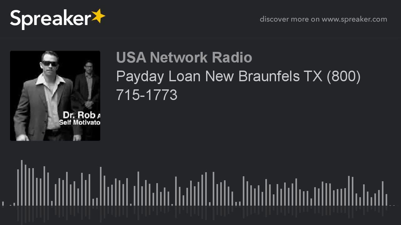 Payday Loans Braunfels, TX