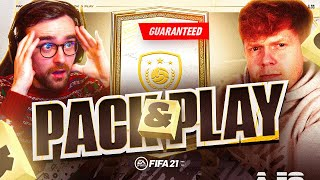 GUARANTEED MID OR PRIME ICON SBC!!! Fifa 21 Pack And Play