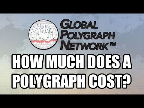 Cost Of A Polygraph (Lie Detector), Global Polygraph Network