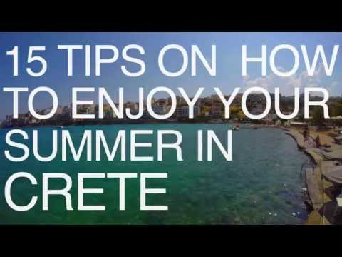 15 TIPS ON HOW TO ENJOY YOUR SUMMER IN CRETE