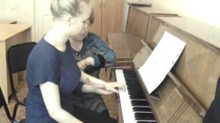 Концертмейстерский класс фрагмент урока 02 (фортепиано)