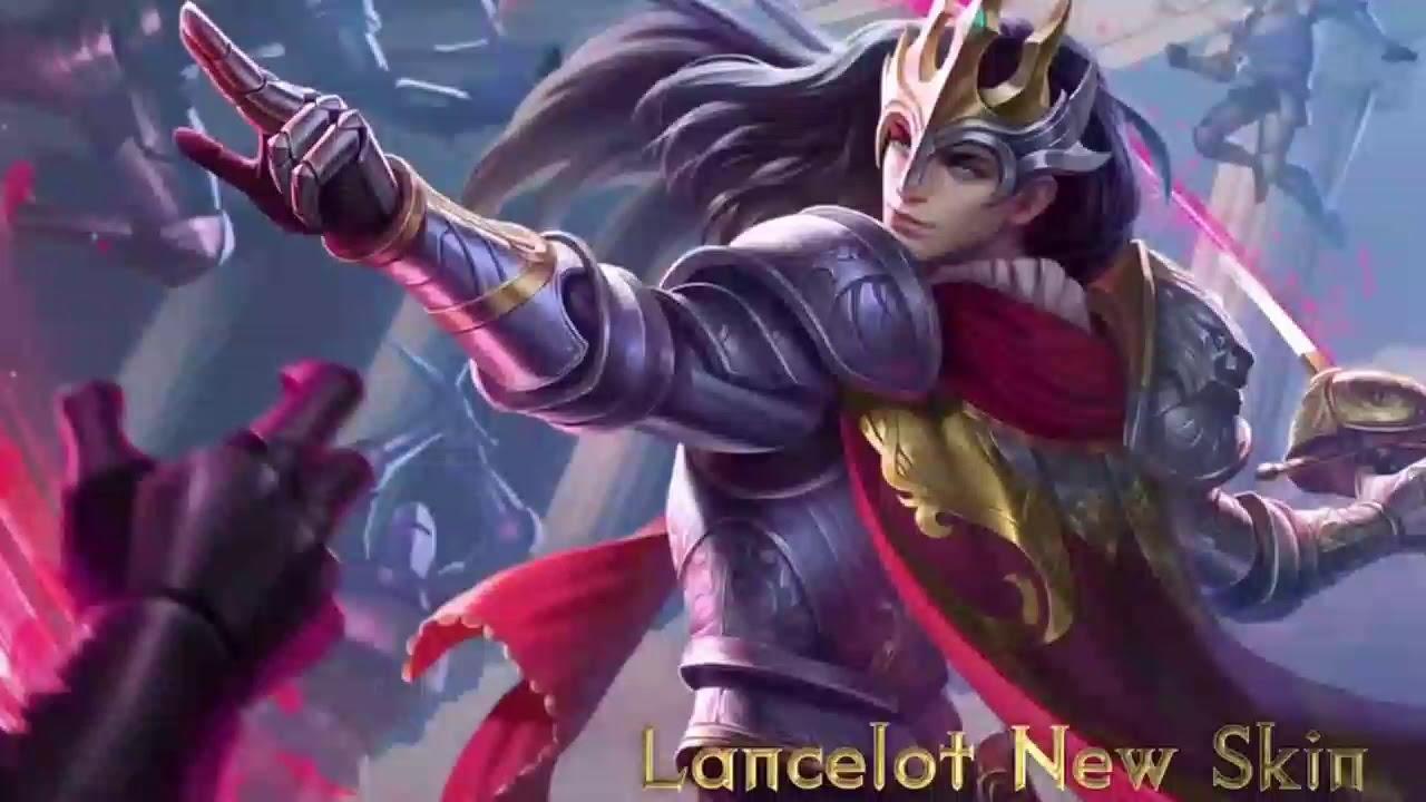 Lancelot Floral Knight Skin Mobile Legends Moving Wallpaper Mobile Legends Live Wallpaper