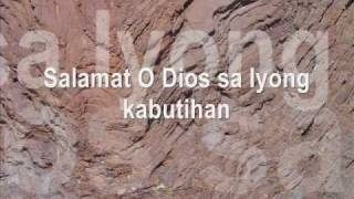 TAOS- PUSONG PASASALAMAT (words and music: Rez O. Valdez)