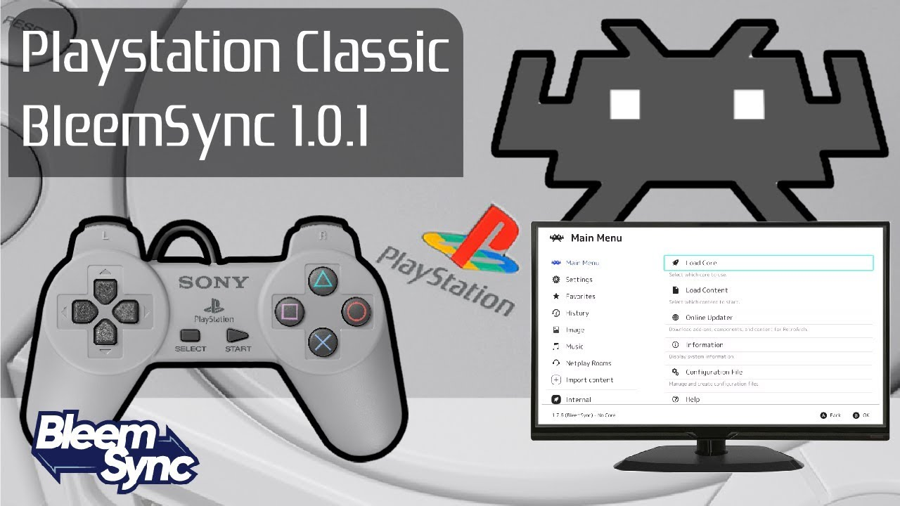 Playstation One Classic Console BleemSync 1 0 1 Hack: Latest