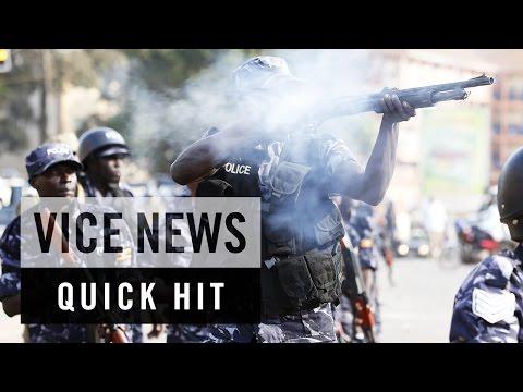 Political Arrest Sparks Unrest in Uganda: VICE News Quick Hit