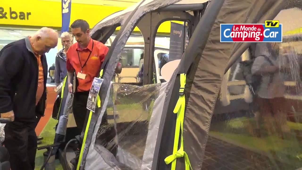 Un Auvent Gonflable Pour Camping Cars Le Traveller Air