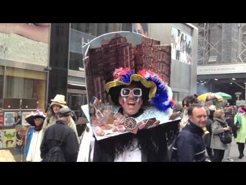 Easter Bonnet Parade NYC 2013