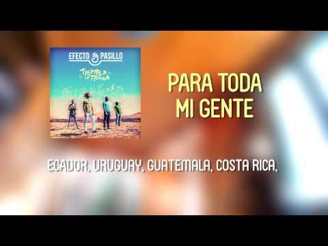 Efecto Pasillo - Para Toda Mi Gente [Lyric Video Oficial]