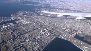 [4K] Tokyo to Hokkaido Flights in 2014 Winter  DMC-LX100