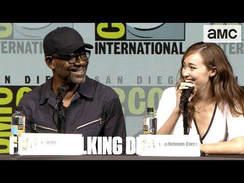 Fear the Walking Dead: 'Alycia DebnamCarey's Birthday & Hurricane s' ComicCon 2018 Panel