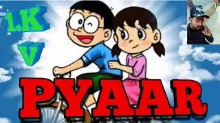 PYAAR||Suzuka/Nobita. Ft Rapper Junge Herr A. G ||Love-Rap-Comic song(Lattest 2018)Full-HD