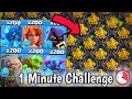 Which Troop Is Fastest In clash of clans     Full Base Gold Storage Vs All Max Troops   DPS TEST