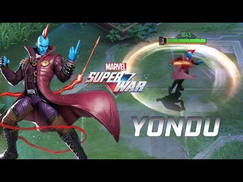 MARVEL Super War: New Hero YONDU Gameplay (Second Beta)