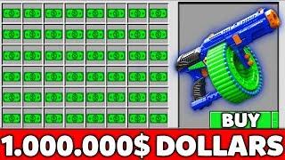 Minecraft Battle: NOOB BUY SUPER NERF GUNS FOR 1.000.000$ MILLION Challenge in Minecraft Animation