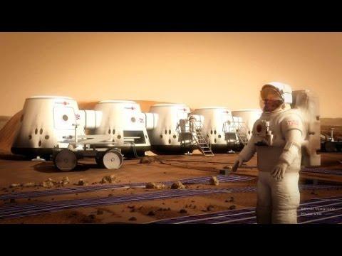 Mit Dem One Way Ticket Ins All Wer Fliegt Auf Den Mars Youtube