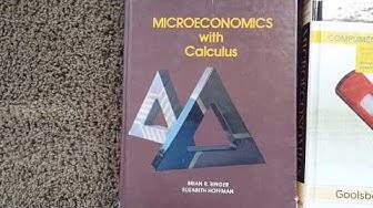 My Favorite Economics Textbooks