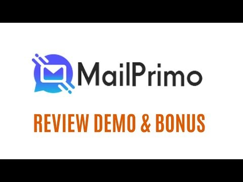 MailPrimo Review Demo Bonus - All In One Email Marketing Software With One Time Payment. http://bit.ly/33Ze2Iq