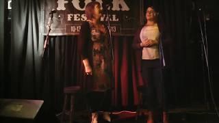 Nell Ní Chróinín & Máire Ní Chéilleachair - Cork Folk Festival 2013