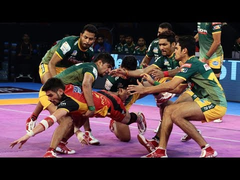 pro-kabaddi-5,-15th-october-2017:-bengaluru-bulls-vs-up-yoddha,-bengaluru-bulls-won-by-38-32