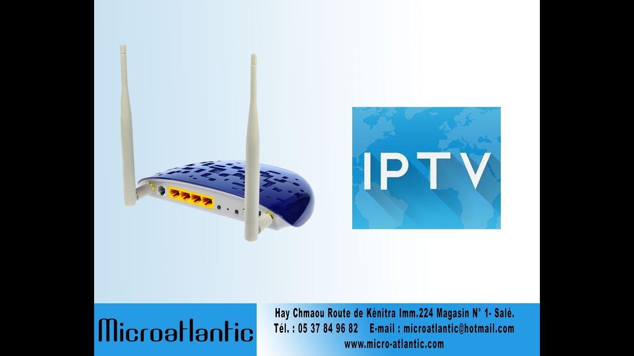 TP-LINK TD-W8960N ليعمل الجهاز بشكل قوي في الإيبي تيفي IP QoSتفعيل خاصية