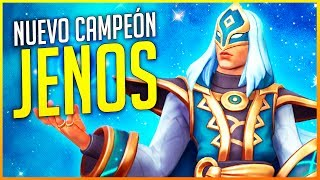 PALADINS: NUEVO CAMPEÓN JENOS ¡SUPPORT OFENSIVO! | Makina