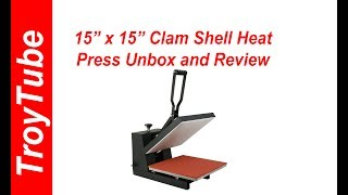 """Video 15"""" x15"""" Zeny Heat Press Review and Recommendation download MP3, 3GP, MP4, WEBM, AVI, FLV September 2018"""