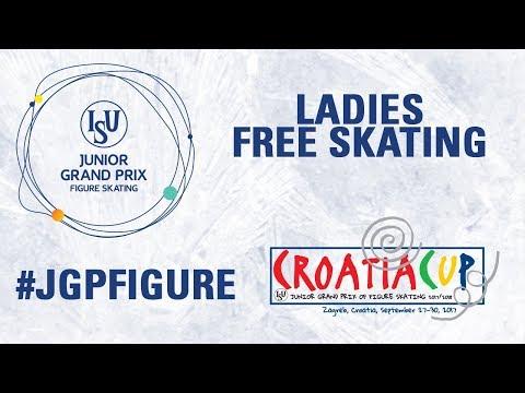 Ladies Free Skating - Zagreb 2017