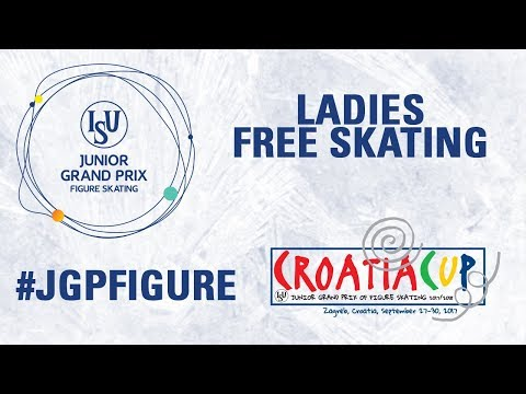 Ladies Free Skating - Zagreb 2017