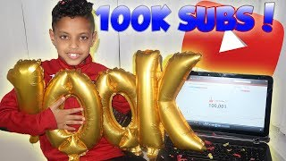 9 YEAR OLD GETS 100,000 YOUTUBE SUBSCRIBERS!! FOOTBALL MATCH HIGHLIGHTS!!