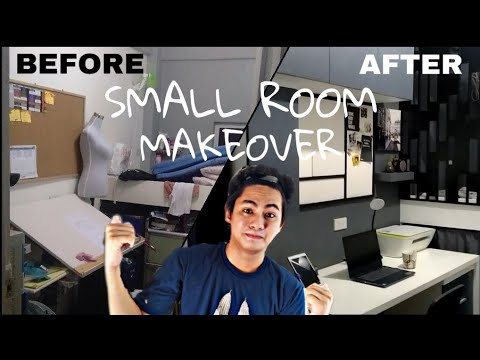 EXTREME SMALL BEDROOM MAKEOVER 2020 | DIY