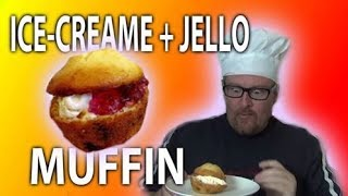 HOMEMADE CHOC-CHIP JELLO ICE CREAM MUFFIN RECIPE