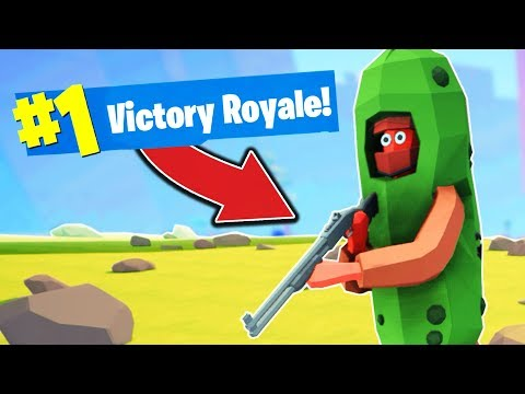 MY FIRST *VICTORY ROYALE* in Totally Accurate Battlegrounds