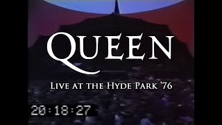Queen - Live At The Hyde Park '76