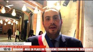 Aubagne : mise en place du troisième conseil municipal des jeunes