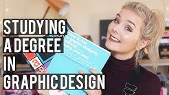 Studying A Degree in Graphic Design (and my portfolio!)
