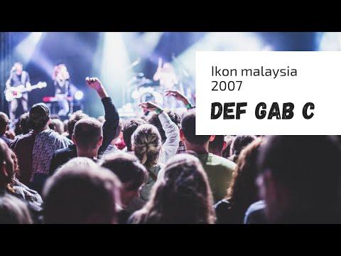 Def Gab C Ibu Kota Cinta, Cinta Sakti, Marilah Maria Retrospektif !  IKON Malaysia 2007