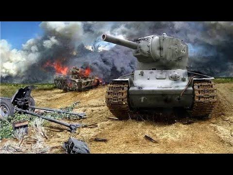 КВ-2 НЕПРИЯТНАЯ НЕОЖИДАННОСТЬ ДЛЯ НЕМЦЕВ В ИЮНЕ 1941г
