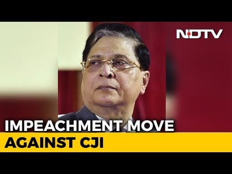 Chief Justice Dipak Misra Faces Impeachment Motion, 71 Have Signed