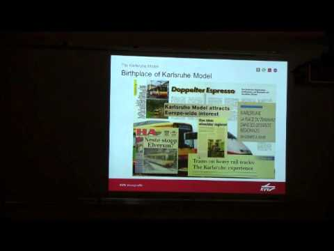 Public Transit Best Practices from Karlsruhe Germany - Lecture