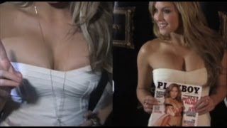 Playboy Playmate Brittney Palmer at an event