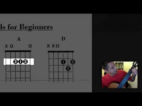 Guitar Basics: D & A Chords/ Dance the Night Away