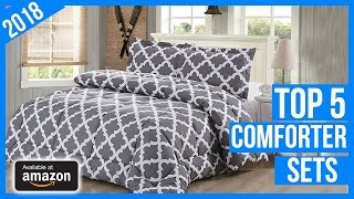 Top 5 Best Comforter Sets in 2018 – Reviews & Buyer's Guide