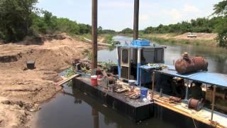 Dragado del Canal Coyuca-Mitla