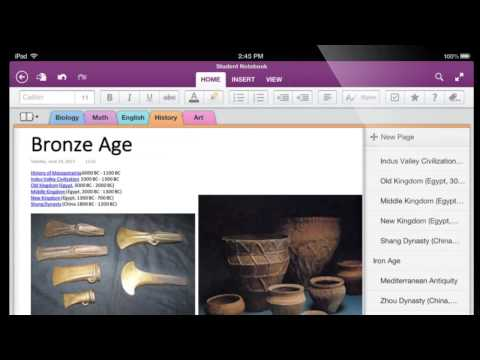 Introducing the new OneNote for iPad, iPhone and Android