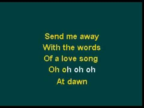The Band Perry - If I Die Young karaoke version