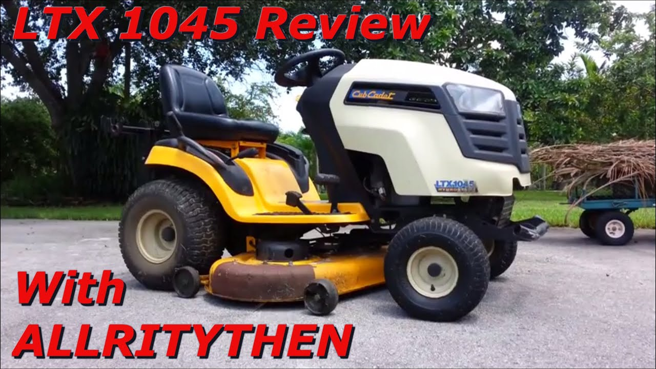2010  2011 Cub Cadet Ltx 1045 Review