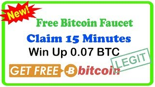 Legit !! Free Bitcoin Faucet And Mining 2018 - Claim 15 Minutes || Free Bitcoin 2018